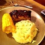 Meatloaf, Mashed Potatoes, Corn <span>©  </span>