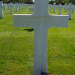 Robert J. Kehoe's grave at Ardennes American Cemetery just outside of Neupre <span>&copy; Andy Swinnen </span>