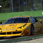 In action in Imola