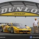 Livery winner Mickael Guyot and Dunlop's Jean-Felix Bazelin