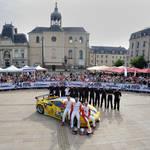 JMW Motorsport at Le Mans 2013 Scrutineering