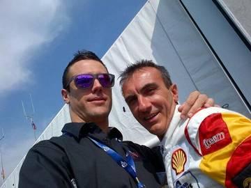 Joel and Andrea <span>© JMW Motorsport </span>