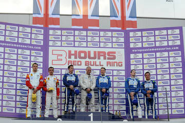 Climbing every podium! <span>© JMW Motorsport </span>
