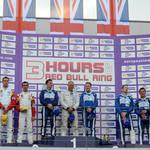 On the podium! <span>© JMW Motorsport </span>
