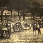 Mt. Tamalpais Military Academy, Mounted Artillery, San Rafael, c.1902