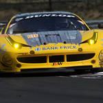 In Action in Hungary <span>&copy; JMW Motorsport </span>