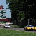 In Action  in Imola <span>© JMW Motorsport </span>