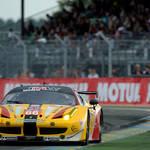 Test action  <span>© JMW Motorsport </span>