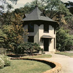 The Octagon House in its new Location circa 1968/9 <span>&copy;  </span>