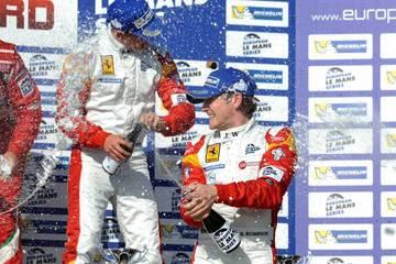 Champage at Paul Ricard <span>© JMW Motorsport </span>