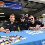Daniel, George and James <span>© JMW Motorsport </span>