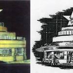 White Star Restaurant on Treasure Island in 1939 and Starlite Club, Terra Linda, circa 1947