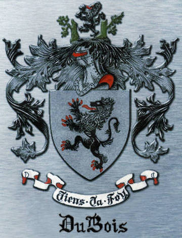 DuBois Family Coat of Arms <span>&copy;  </span>