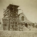 Tomales Church of the Assumption under construction, circa 1901 <span>© Anne T. Kent Calif. Rm </span>