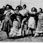 Sausalitans participating in the Folk Dance Festival at Marin Junior College, July, 1946