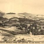 Magnolia Park, San Rafael, 1884 <span>© Anne T. Kent Room </span>