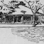 Drawing of the San Rafael Golf Club clubhouse as published in the Oct. 31, 1898 San Francisco Call <span>&copy; San Francisco Call </span>