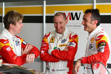 Rory, Rob and Andrea <span>&copy; JMW Motorsport </span>