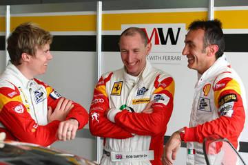 Rory, Rob and Andrea <span>© JMW Motorsport </span>