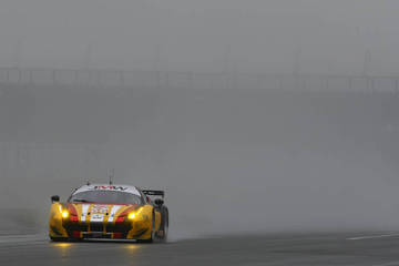 Come to Silverstone they said, it'll be nice they said! <span>&copy; JMW Motorsport </span>