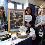 Lily Marie & Fans of U.S. Department of Peacebuilding <span>&copy; Nancy Merritt </span>
