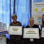 CA Peace Alliance Volunteers & Peace Cornerstones <span>&copy; Nancy Merritt </span>
