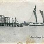 Draw Bridge at Black Point, early 1900s. Staley Postcard Collection