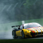 Rain, rain, go away <span>© JMW Motorsport </span>