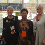 Jo Ann Gaines, Rep. Barbara Lee, Terry Mason