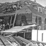Tavern of Tamalpais under Construction, Sept. 1896