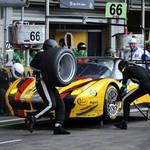 Pit action <span>&copy; JMW Motorsport </span>