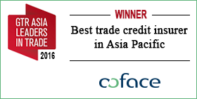 Best Trade Credit Insurer in Asia Pacific <span>© COFACE </span>