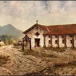 Mission San Rafael Arcángel by Edwin Deakin. Courtesy Los Angeles County Museum of Natural History.