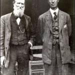 L-R: John Muir & William Kent at Muir Woods, 1908 <span>&copy; Anne T. Kent Room </span>