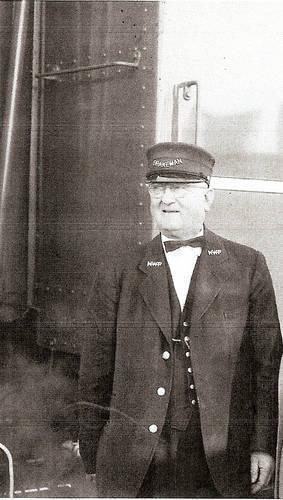 NWP Railroad Brakeman Elmer Pimm, 1956 <span>© Codoni & NWPRRHS </span>