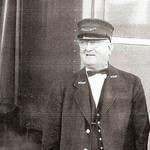 NWP Railroad Brakeman Elmer Pimm, 1956