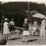 Children attending the annual Grape Festival at the Kent Family home, circa 1921 <span>© Anne T. Kent Room </span>