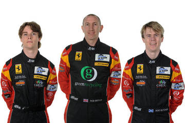 The new trio - Jody, Rob and Rory <span>© JMW Motorsport </span>