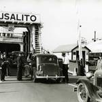 Sausalito Auto Ferry, 1936 <span>© Anne T. Kent Room </span>