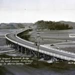 Redwood Bridge over Richardson Bay, c.1932