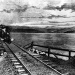 Railroad bridge over Richardson Bay, c.1880s <span>&copy; Anne T. Kent Room </span>