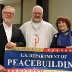 Pr. Doug Merritt, Bishop Mark Holmerud, Nancy Merritt
