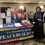 Dept. of Peacebuilding Booth & Supporters <span>&copy;  </span>