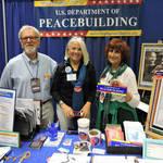 Doug Merritt, Judy Kimmel, Nancy Merritt at Booth <span>&copy;  </span>