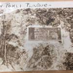 Plaque to Austin Ramon Pohli, Pohli's Rock, 1914 <span>&copy; Anne T. Kent Room </span>
