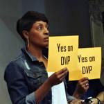 Woman DVP Supporter <span>© Nancy Merritt </span>