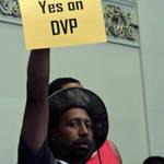 Man DVP Supporter <span>© Nancy Merritt </span>