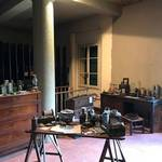 Exhibit reconstructing Marconi's Lab at his home near Bologna, Italy. 2017 <span>© Richard Nielsen </span>