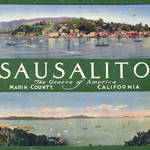 Sausalito promotional brochure early 1900s