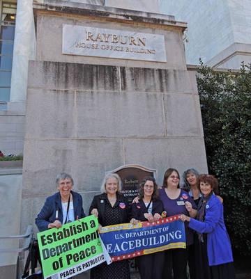 DoP Team at Rayburn Building In DC <span>&copy; Nancy Merritt </span>